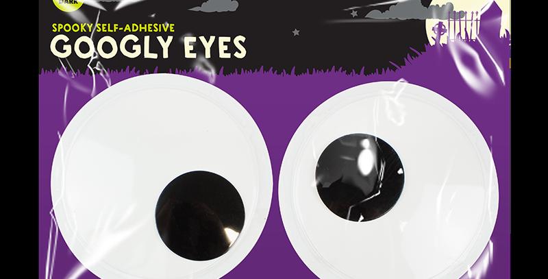 Self-Adhesive Halloween Googly Eyes