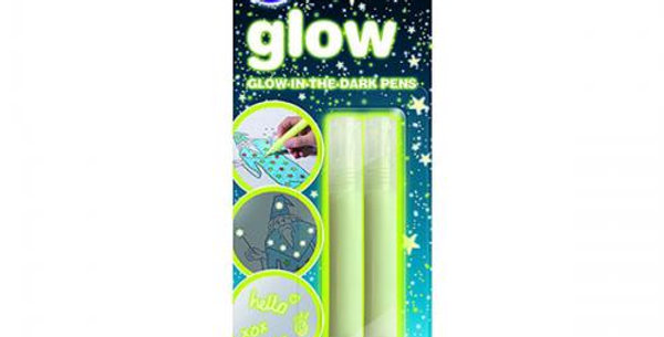 Florescent glow in the dark 2 pen kit