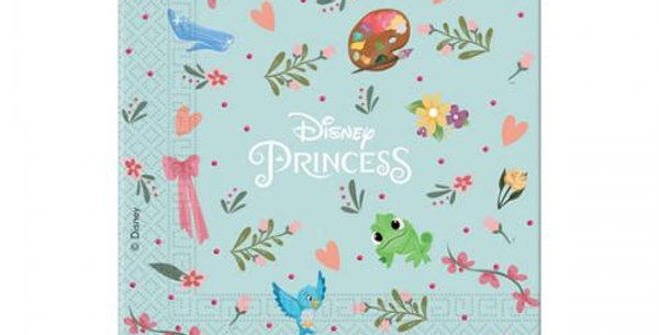 Disney Princess 33 x 33cm napkins 20pk