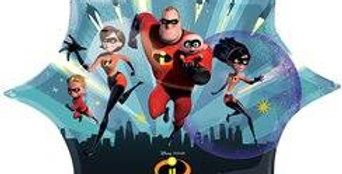 The Incredibles 2 Supershape Foil Balloon - 35'' (each)