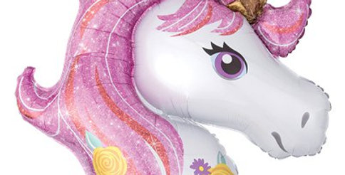 "Magical Unicorn SuperShape Balloon - 33"" Foil (each)"