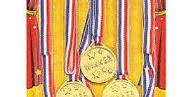Winners Per Card)  medals 6pk