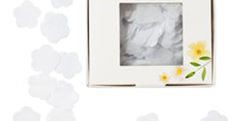 Biodegradable White Flower Tissue Confetti (each)
