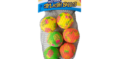 Splash Balls - 6 Pack