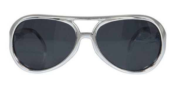 Silver Rock Star Glasses
