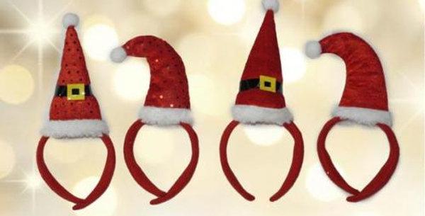 Felt soft Santa headbandS