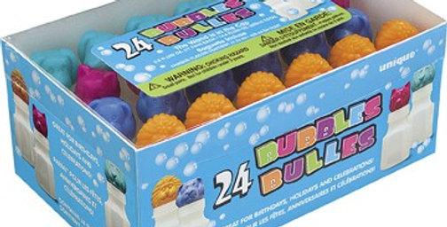 Animal bubbles approx 5cm each
