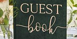 Green Velvet Almost Mrs Hen Party Book