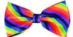 Bow Tie Rainbow Coloured