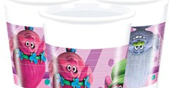 Trolls Plastic Party Cups - 200ml (8pk)