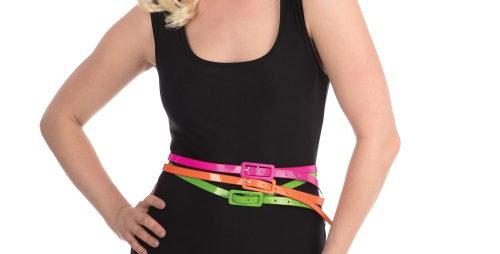 80s Neon Belts (Set of 3)