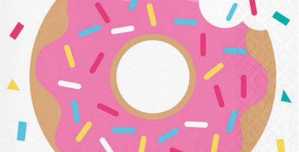 Beverage Napkins doughnut 25 x 25 cm 16 pz