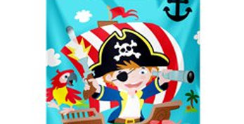 Captain Pirate Party Bags (8pk