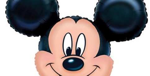 """Mickey Mouse SuperShape Balloon - 27"""" Foil (each)"""