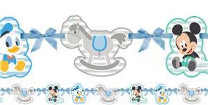 Baby Mickey Banner - 1.1m