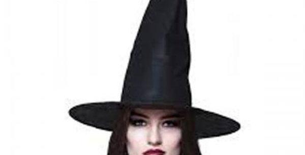 Budget Black witch hat
