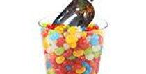 Cylinder Sweet Jar - 14cm (each)