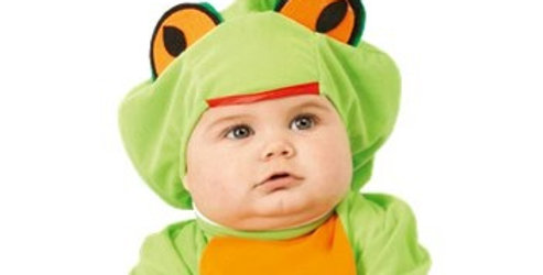 Little Baby Frog - Baby and Toddler Costume age 6-12 months, 1-2 years includes