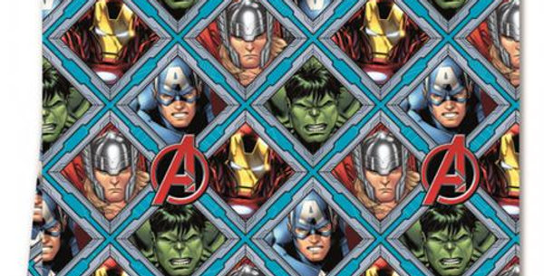 Mighty Avengers Plastic Tablecover - 1.8m (each)