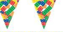 Block Party Paper Flag Bunting (each)