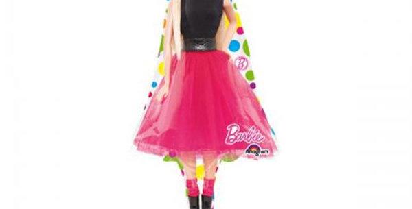 Barbie supershape foil balloon