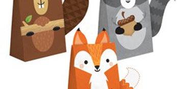 Woodland Animals Treat Bags (8pk)