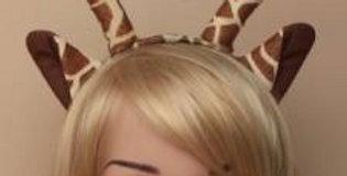 Giraffe ears aliceband.