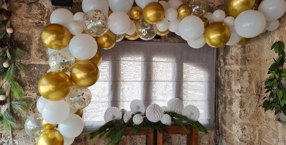 Balloon 4m arch garland