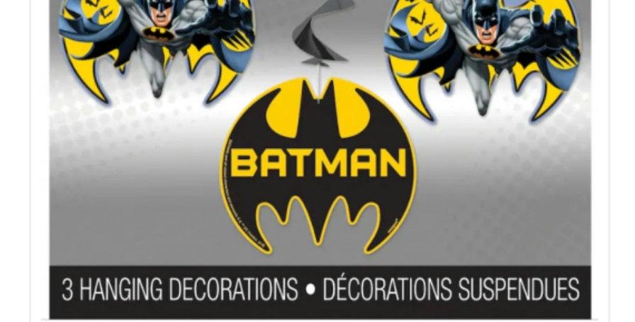 Batman 3 hanging swirls