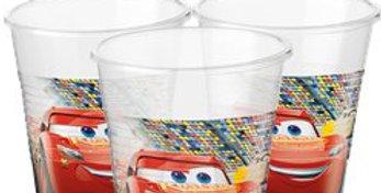 Disney Cars 3 - Plastic Party Cups - 200ml (8pk)