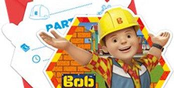Bob the Builder Invitations (6pk)