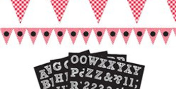 Picnic Party Personalisable Bunting - 7.9m (each)