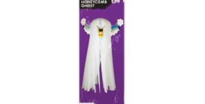Halloween 3D Honeycomb Ghost