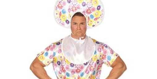 Adult Baby - Adult Costume size 34''-38'' chest 42''-44''includes headpie