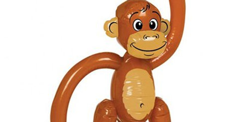 Inflatable Monkey - 50cm (each)