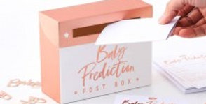 Baby Shower Prediction Box Game - Twinkle Twinkle