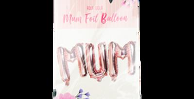Mum Foil Balloon air fill only