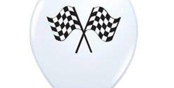 Grand Prix 11'' Latex Balloons   6pk