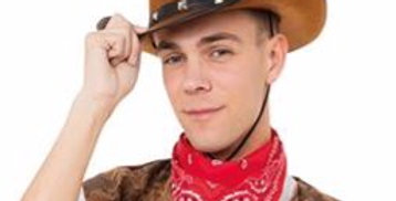 Cowboy (Cow Print) costume