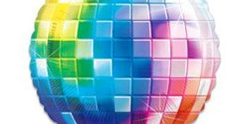 70s Disco Ball Fever Balloon - 32'' Foil (each)
