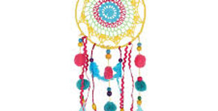 47 x 17cm Colourful Dreamcatcher