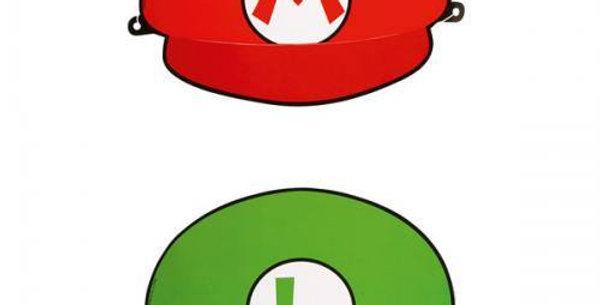 8 HATS SUPER MARIO