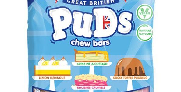 Great British Puds Chew Bars (per bag)