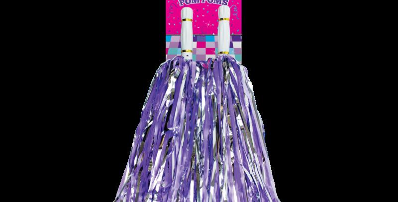 Cheerleading Pom Poms - 2 Pack