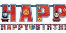 Thomas the Tank Engine Jumbo Add An Age Letter Banner (each)