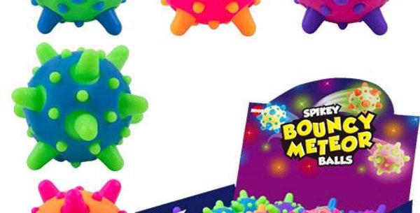 Bouncy Meteor Balls
