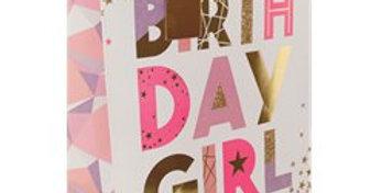 Birthday Girl Large Gift Bag - 33cm