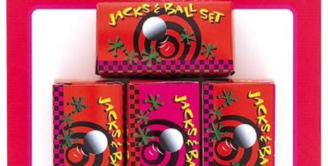 Hen Party Jack & Ball Set 4CT.