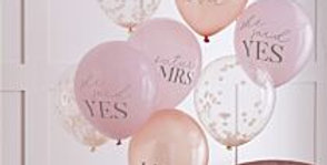 Mixed Pack Of Hen Party Balloons