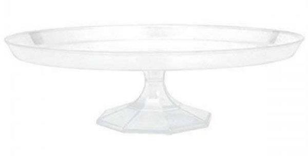 Plastic cake stand 35cm diameter
